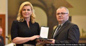 Damir Remenar odlikovan Redom Danice hrvatske s likom Nikole Tesle