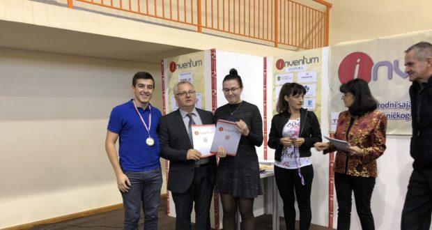 Dodijeljene medalje – Inventum 2018
